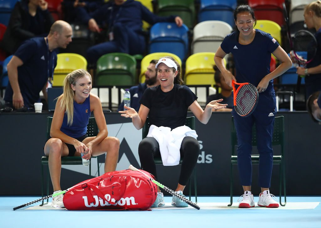 "British number one Johanna Konta is hoping for home-crowd energy as her team bid for Fed Cup promotion.  ""The home support lends you energy when you need it.""  Everything you need to know 👉 https://bbc.in/2Gw3NBB   #FedCup #bbctennis"