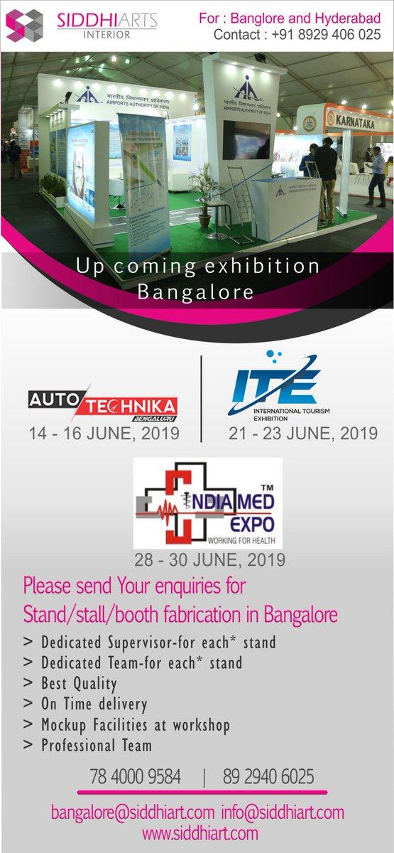 Exhibition Stand Builders Bangalore : Siddhi art @siddhiarts twitter