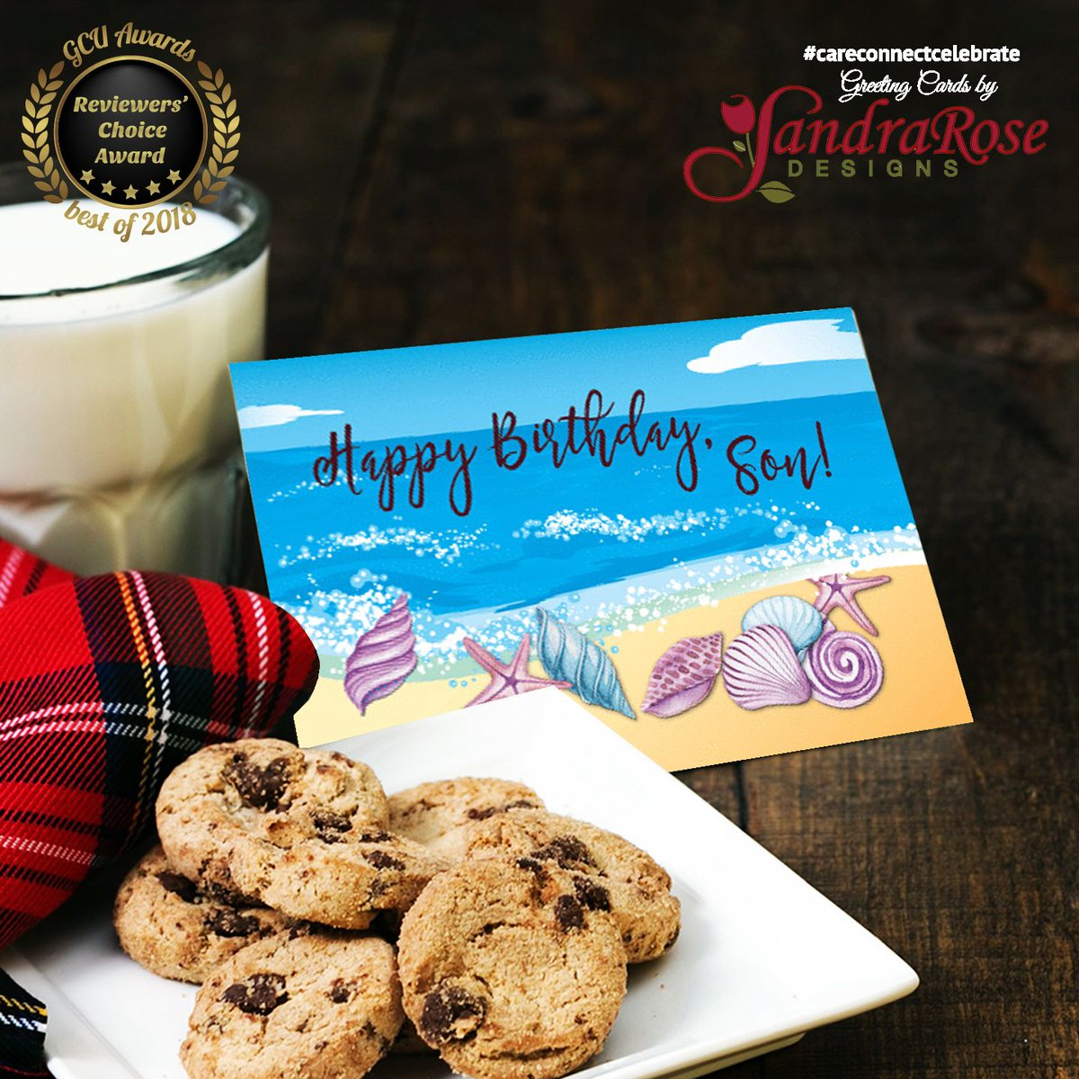 Let your son know what a treasure he is on his birthday.  #CareConnectCelebrate w/ cards by #SandraRoseDesigns  Get this! http://bit.ly/SonBirthdaySeashells… #Birthday #Son #Seashells #AnyCardImaginable @GCUniverse #Greetingcards #Greetingcard #ArtvsArtists2019 #ArtvsArtist