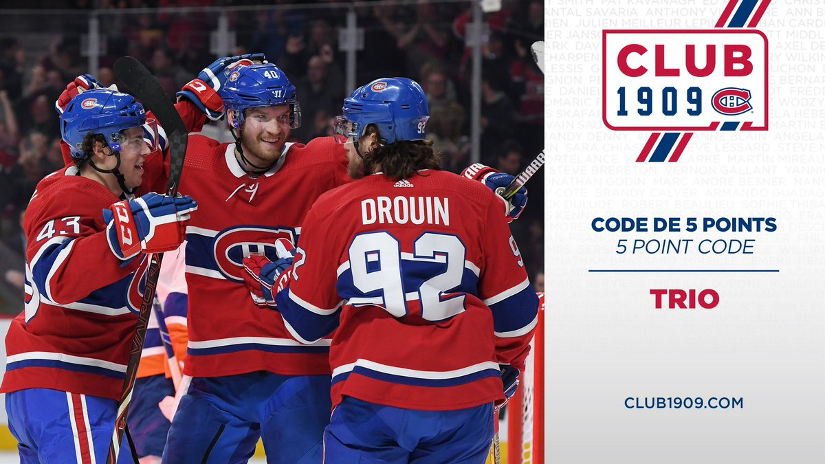 Canadiens Montréal @CanadiensMTL