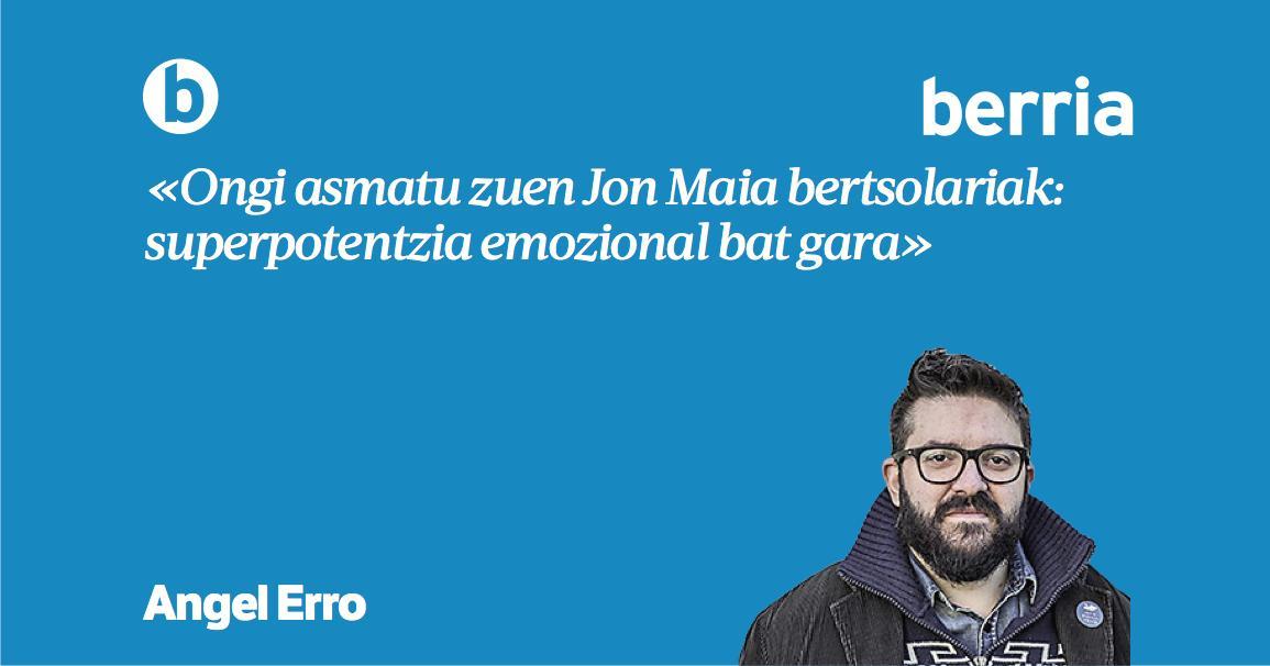 .@angelerro-ren 'Emozioak' #Jira-n https://www.berria.eus/paperekoa/1886/014/003/2019-04-19/emozioak.htm…