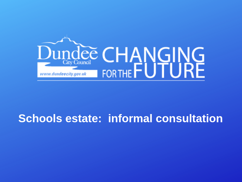 As part of our commitment to improve the school/learning estate in Dundee, Dundee City Council wish to gather views on a number of possible developments some of which may be taken forward in partnership with Angus and Perth and Kinross Councils. http://bit.ly/2WwVt9P
