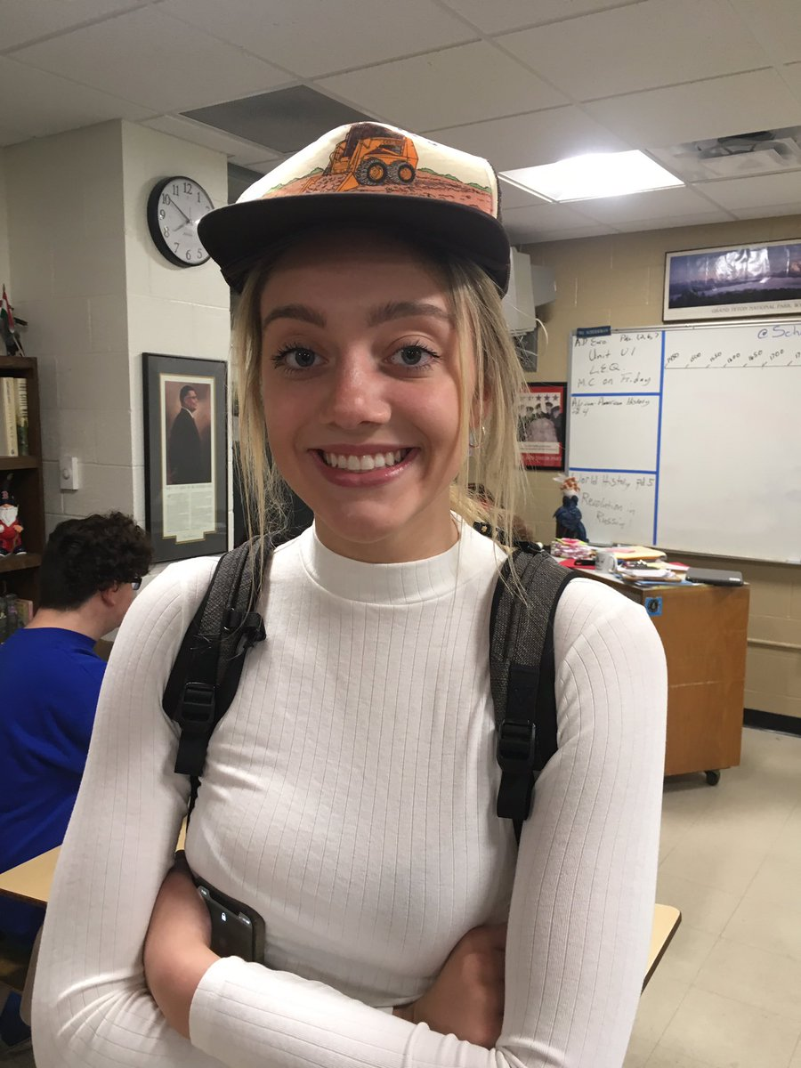Happy Hat Day to Tyler! We gave her a Unit Exam to Celebrate #ColdWarmakesagreatgift #144Tradition #HBD #PictureisbetterthanEmmas