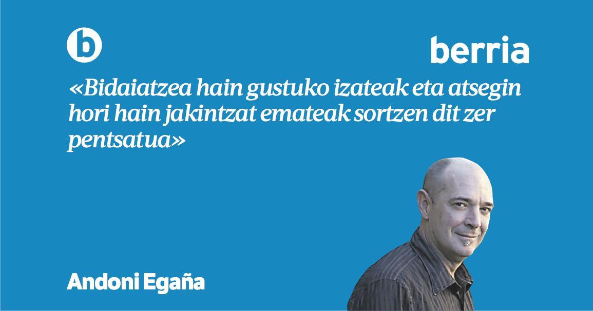 'Gurpilak' @AndoniEgana-ren #hitzetzanak https://www.berria.eus/paperekoa/1881/015/001/2019-04-19/gurpilak.htm…