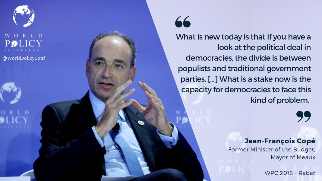 Jean-François Copé at the 11th World Policy Conference