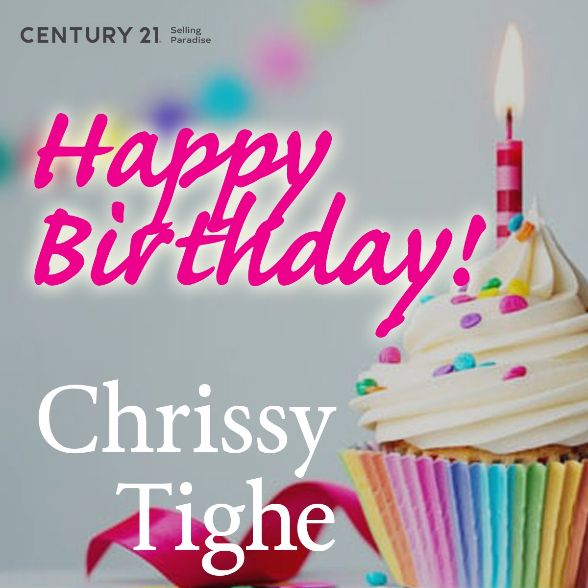 Wishing a lovely birthday to Chrissy Tighe/Realtor at Century 21 Selling P... with #C21SP Cape Coral, from your #C21SPFam!  #HBD #HappyBirthday #C21 #Realtor #SWFL #FL #RealEstate
