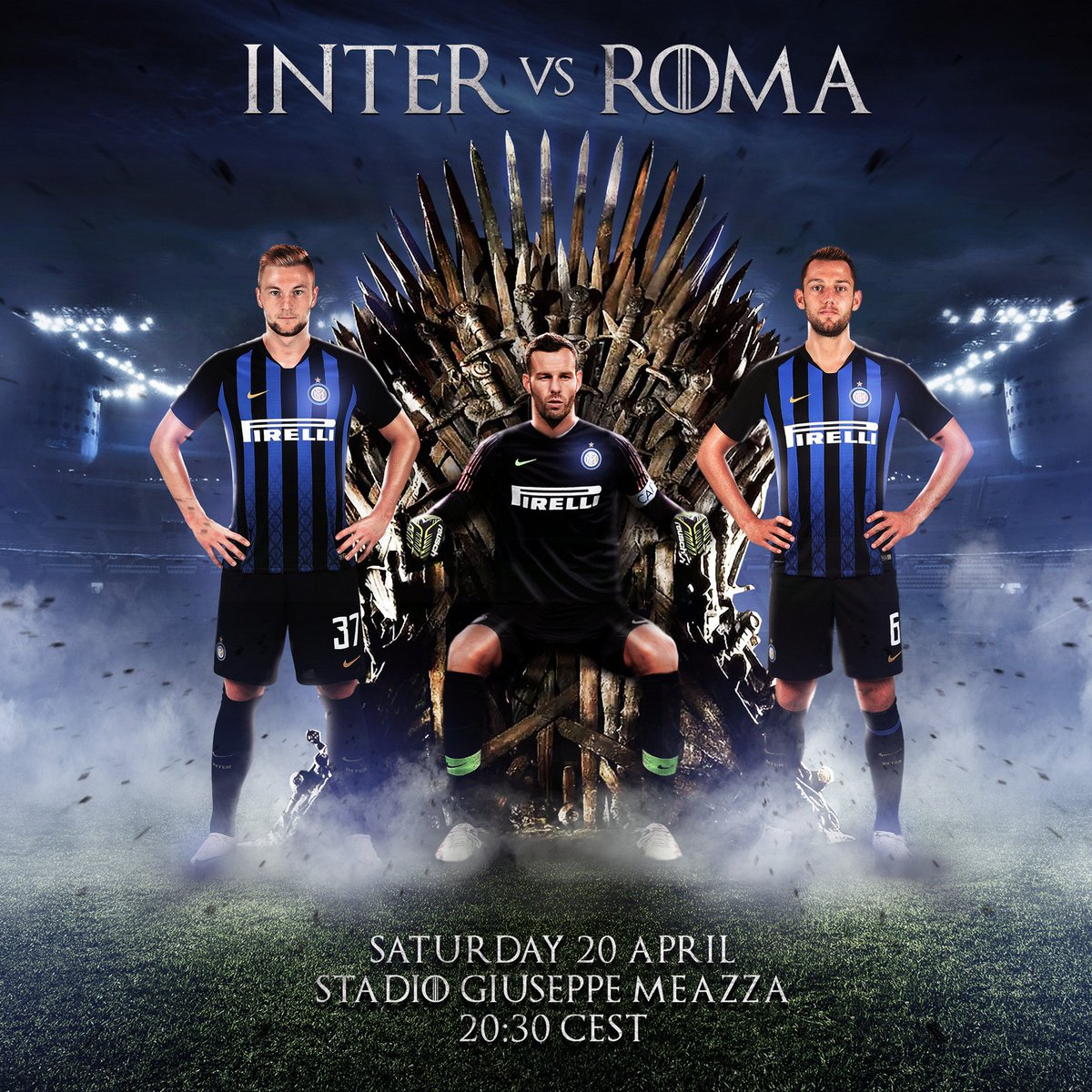 Inter's photo on #InterRoma