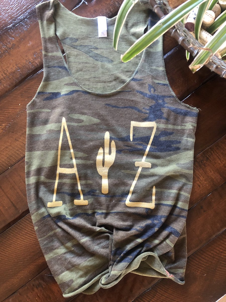 Camo racerback tank available on the website now! Screen printed & made to order. http://www.mcmcollectives.com  #AZ #Screenprinting #Screenprint #Camo #Tank #Style #Fashion #InstaFashion #OOTD #Cactus #instapic #fashion