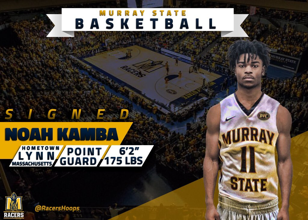 Noah Kamba (@KambnoTrio) is officially a part of the family! http://bit.ly/2UI8iSq #RacerTradition