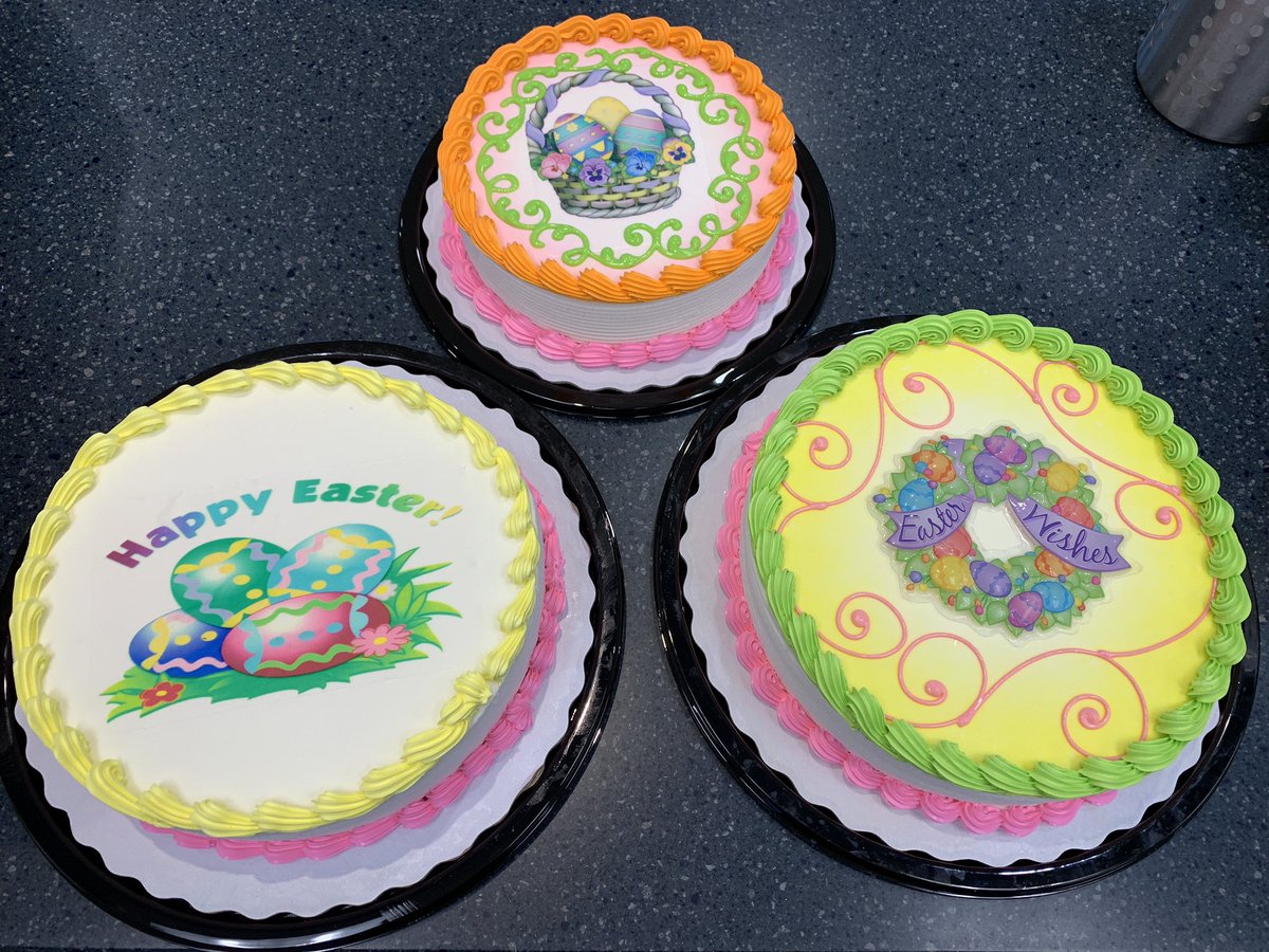 Come In And Shop Our Selection Of Easter Cakes We Are Open Until 11pm Tonight LoveMyDQ Dqcakes DairyQueenpictwitter JqR8ArVOhb