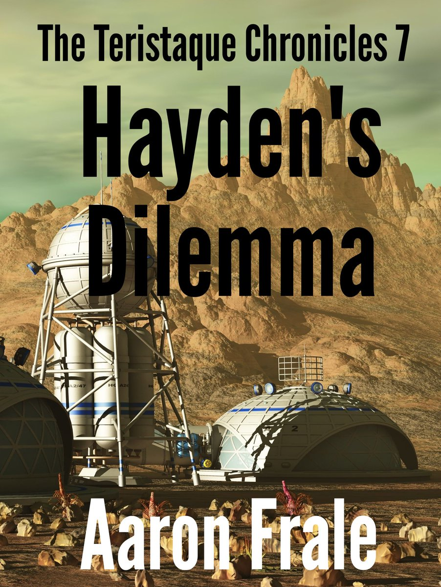Hayden's Dilemma by @AaronFrale is the 7th short story in a series that chronicles the adventures of a rag tag group of space pirates. You can read the first story for #free. #ScienceFiction #SciFi #SciFiChat http://bookshow.me/B07NRV88B4 .#..