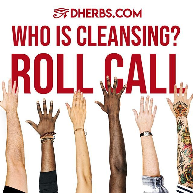 #ROLLCALL! Who is cleansing right now? Tell us how it is going.  #dherbs #fullbodycleanse #fresh #vegan #plantbased #fitness #healthyfood #healthy #health  #organic #govegan #cleaneating #motivation #veganlife #veganfood #rawvegan #weightloss #whatthehealth #diabetes #alkali…