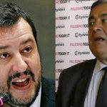 "Image for the Tweet beginning: Salvini ancora contro Orlando: ""Palermo"