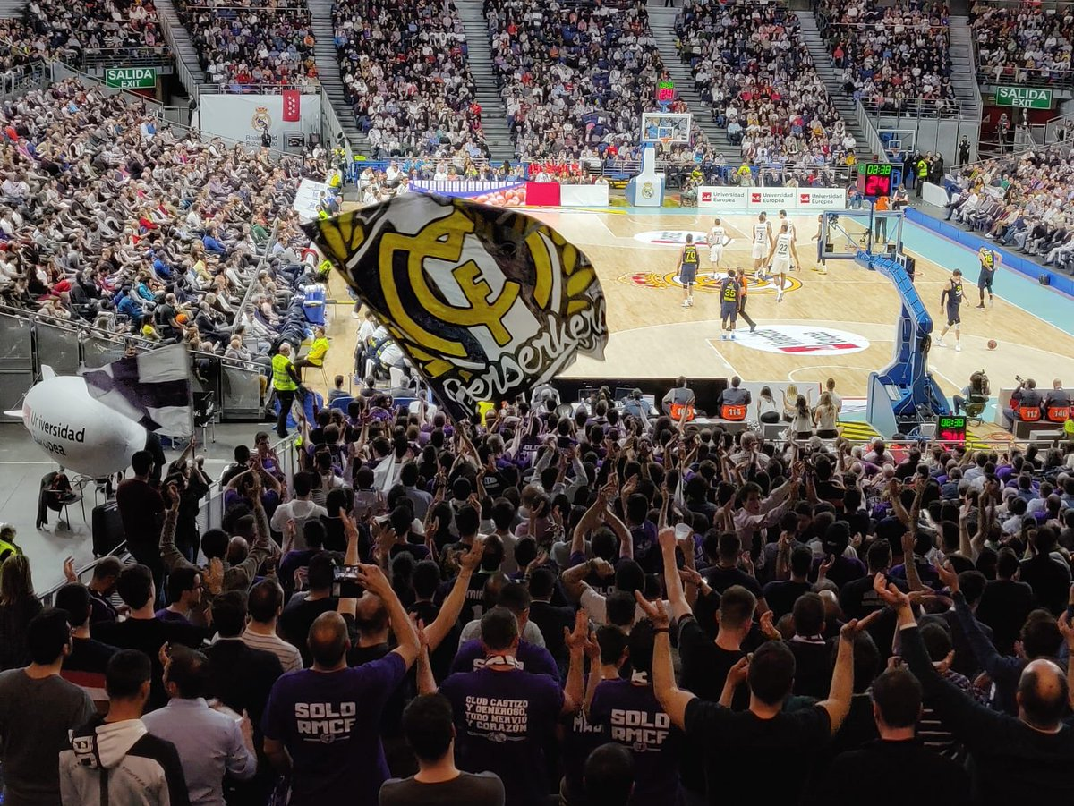 """Esta noche nos espera otra """"guerra"""". El equipo necesita al Palacio de las mejores ocasiones, nosotros también. ¡Madridista, sigue nuestros cánticos y ayúdanos a crear el ambiente que el equipo se merece! #AnimaConBSK"""