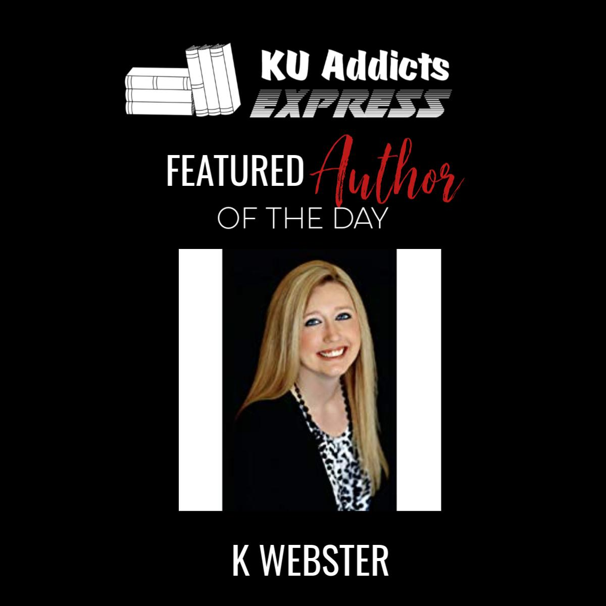 Featured Author of the Day  K Webster is a USA Today Bestselling author of many different genres including dark romance, taboo romance, contemporary romance, historical romance, paranormal romance & erotic romance.  Find her on #KindleUnlimited - https://geni.us/nEB8  #author