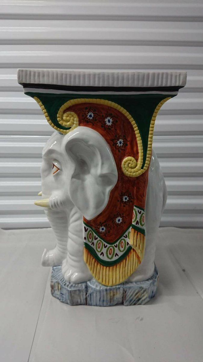 Excited to share the latest addition to my #etsy shop: Vintage #Italian #Elephant Pedestal Side Table - Decorative - Free Shipping #art #sculpture #mothersday #housewarming #white #vintage #hollywoodregency #homedecor #mcm https://buff.ly/2VTwkXh  https://buff.ly/2VTwz4D