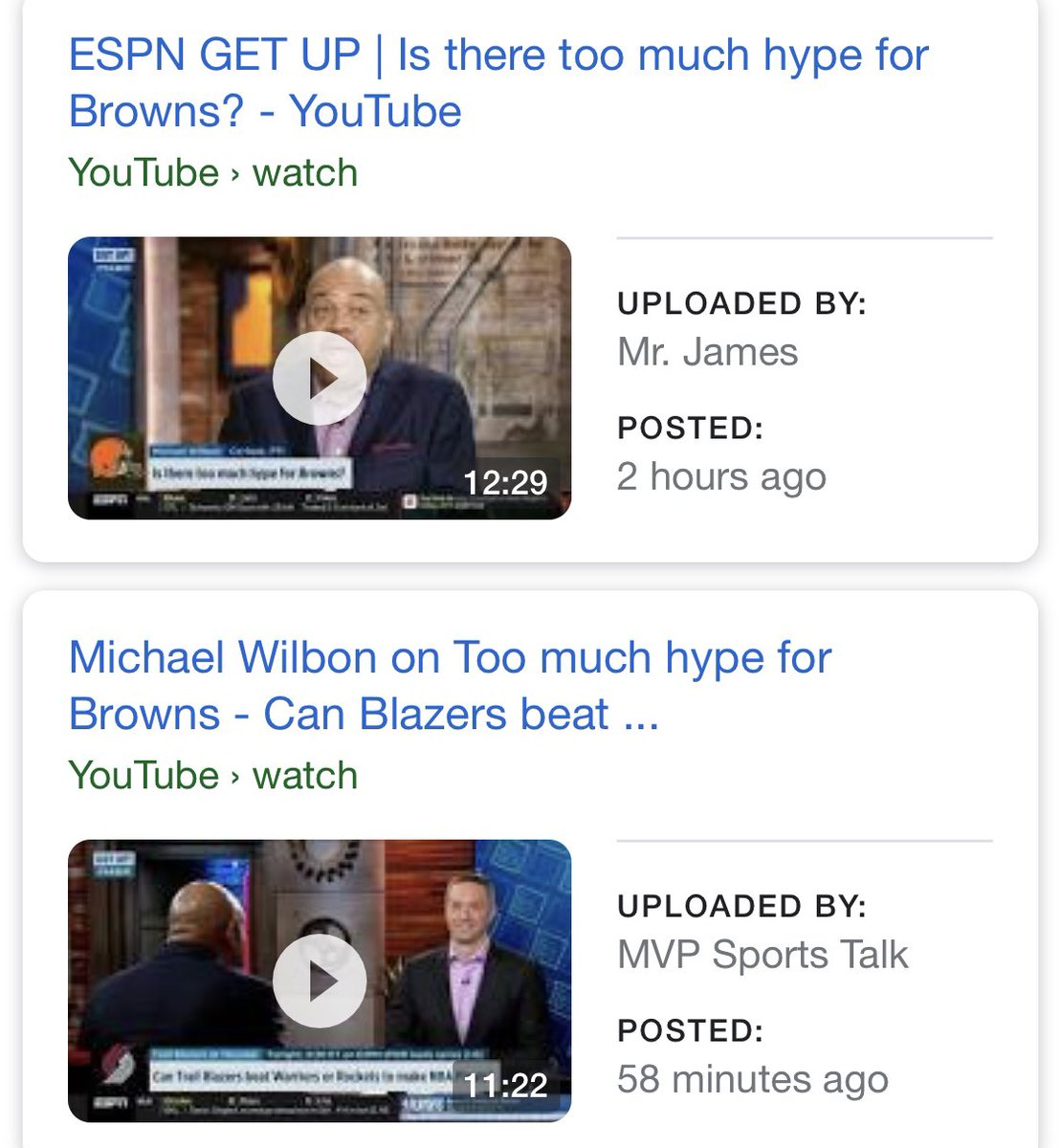 "#Browns org/players keep saying have to prove it on the field. Local fans are acting excited but cautious. National media like @espn and @FOXSports are inflating the hype. Same outlets now are discussing ""Too Much Hype"". Look in a mirror, you are the ones creating the narrative!"