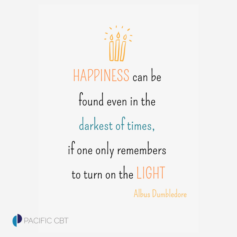 Like: https://www.facebook.com/PacificCBT/  Follow: https://twitter.com/JMontopoli_LMFT  #happiness #motivation #health #mentalhealth #stress #anxiety #depression #OCD #PCBT #behavioraltherapy #CognitiveBehavioralTherapy #SanFrancisco