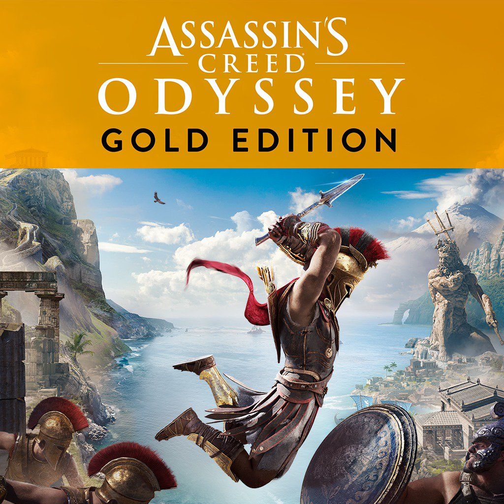 Assassin's Creed Odyssey Gold Edition is $32.99 on US PSN (includes AC3 Remastered + Liberation, discount in cart) http://bit.ly/2IWe5OH Standard $19.79 http://bit.ly/2EBbyqc