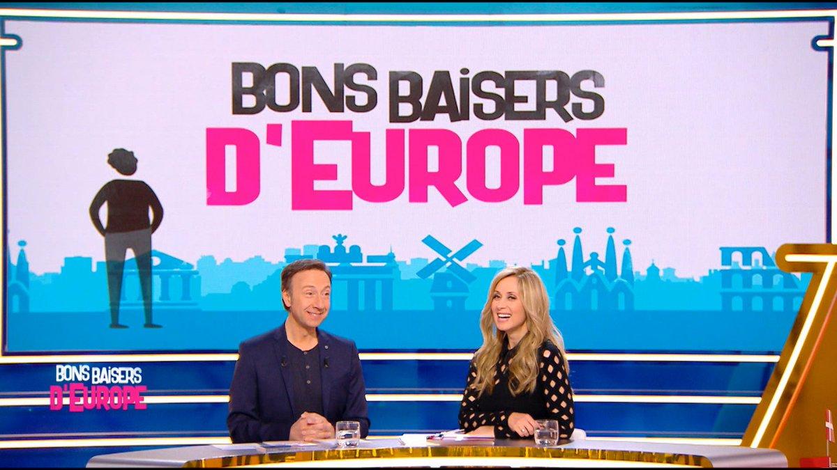 Rendez-vous à 16h45 sur @France2tv pour #bonsbaisers d'Europe 🇪🇺 présenté par @bernstephane avec @EnoraMofficiel, @JuliaMolkhou, @AbdelAlaoui2011 et notre invitée spéciale @LFabianOfficial !