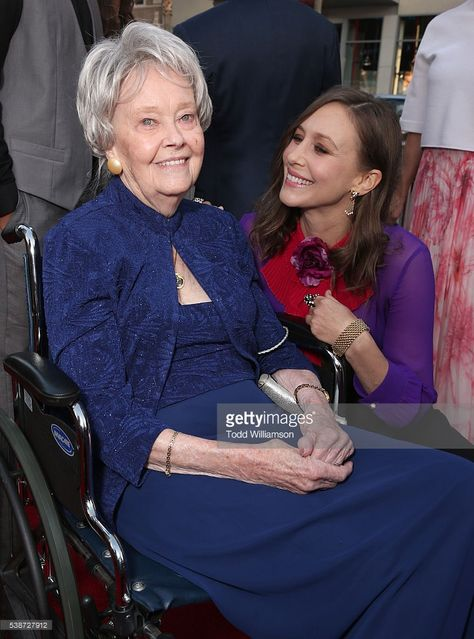 My dear friend Lorraine Warren has passed. From a deep feeling of sorrow, a deep feeling of gratitude emerges. I was so blessed to have known her and am honored to portray her. She lived her life in grace and cheerfulness. She wore a helmet of salvation, she dawned her sword...