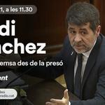 Image for the Tweet beginning: Avui Jordi Sànchez des de