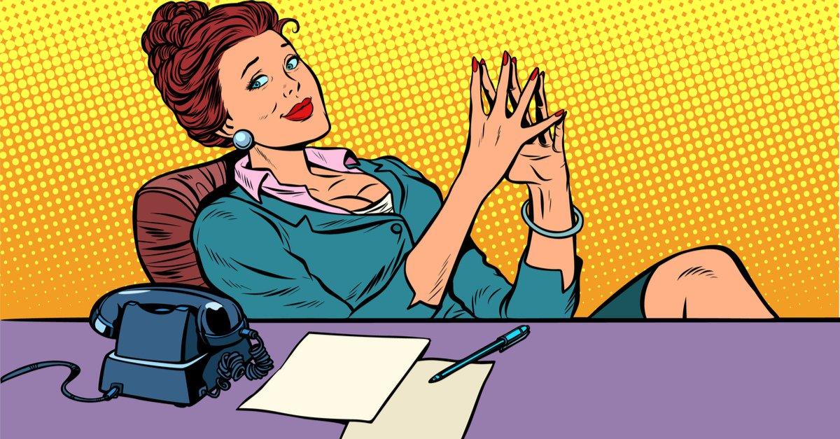 Прикольные картинки про директора женщину
