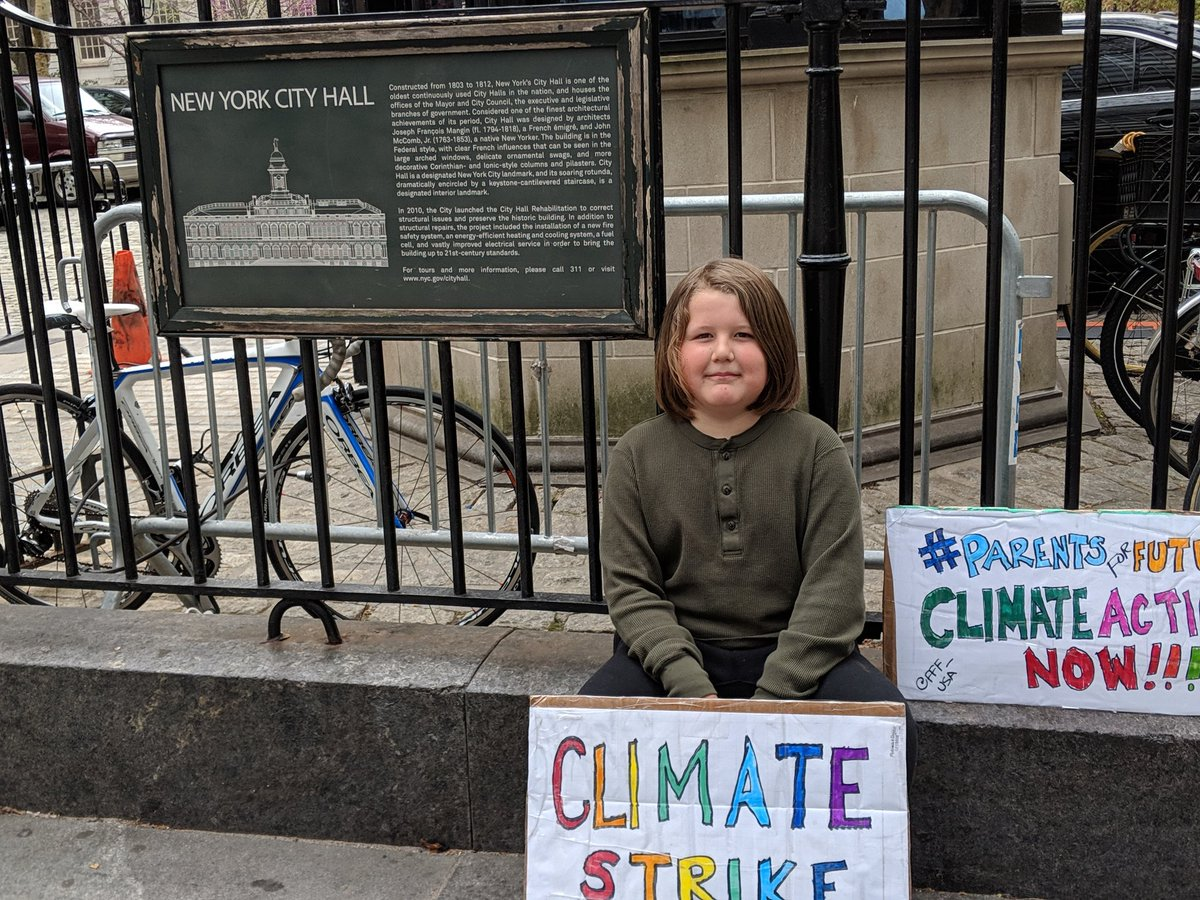 Week 18 #ClimateStrike #FridaysForFuture thank you @Costa4NY and @nycgov for passing the Climate Mobilization Act. #IsItEnough @GretaThunberg @FFF_USA<br>http://pic.twitter.com/t7HEYyBYXc