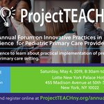 Image for the Tweet beginning: Attend Project TEACH's Second Annual