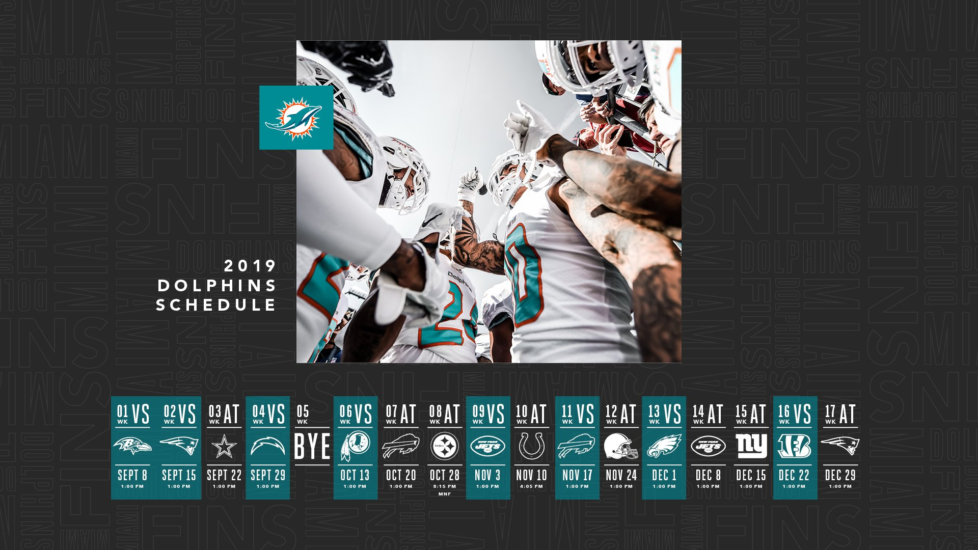 Miami dolphins on twitter needing a refresh for your computer and phone check out our latest - Miami dolphins wallpaper ...
