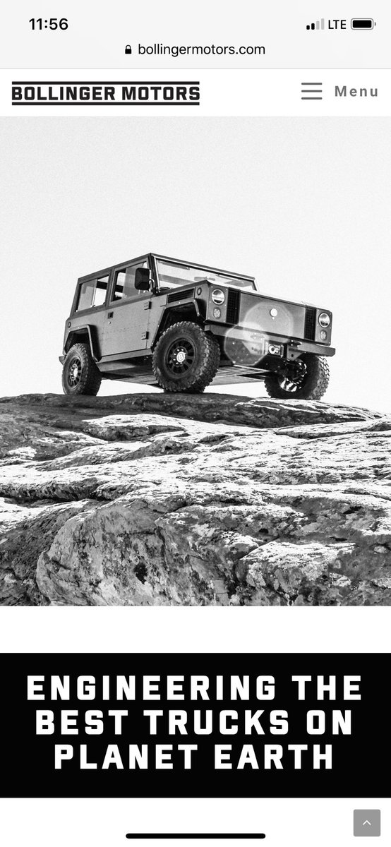 Check out our new website! While the engineers do their thing the marketing department got bored. #electric #trucks #bollinger #evs #offroad  http://www. bollingermotors.com  &nbsp;  <br>http://pic.twitter.com/PfXzCKSFes