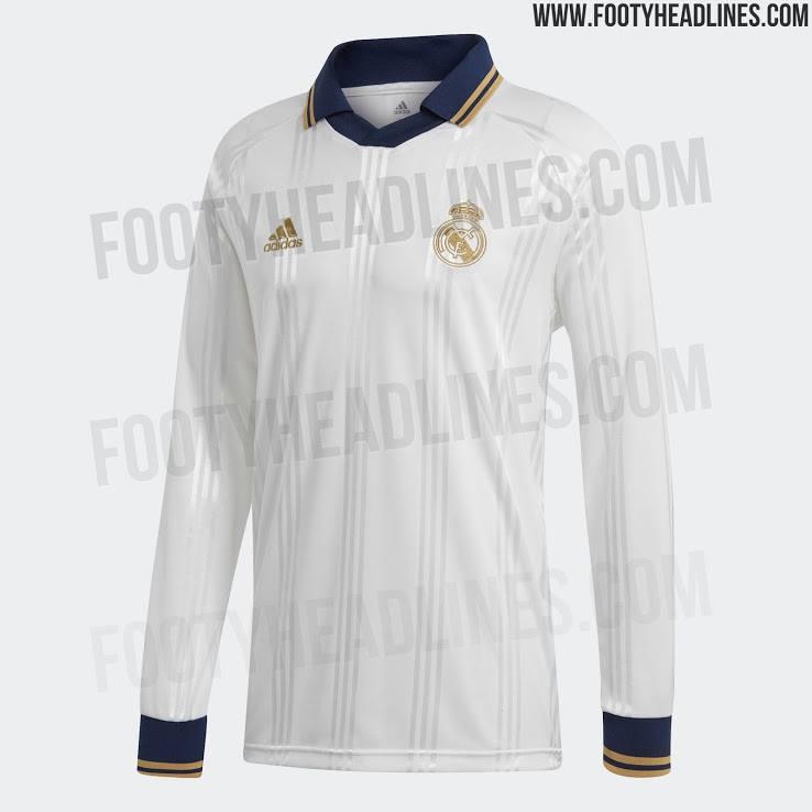 "Le maillot Adidas Real Madrid 2019-20 ""Icon Retro"" [FootyHeadlines]"