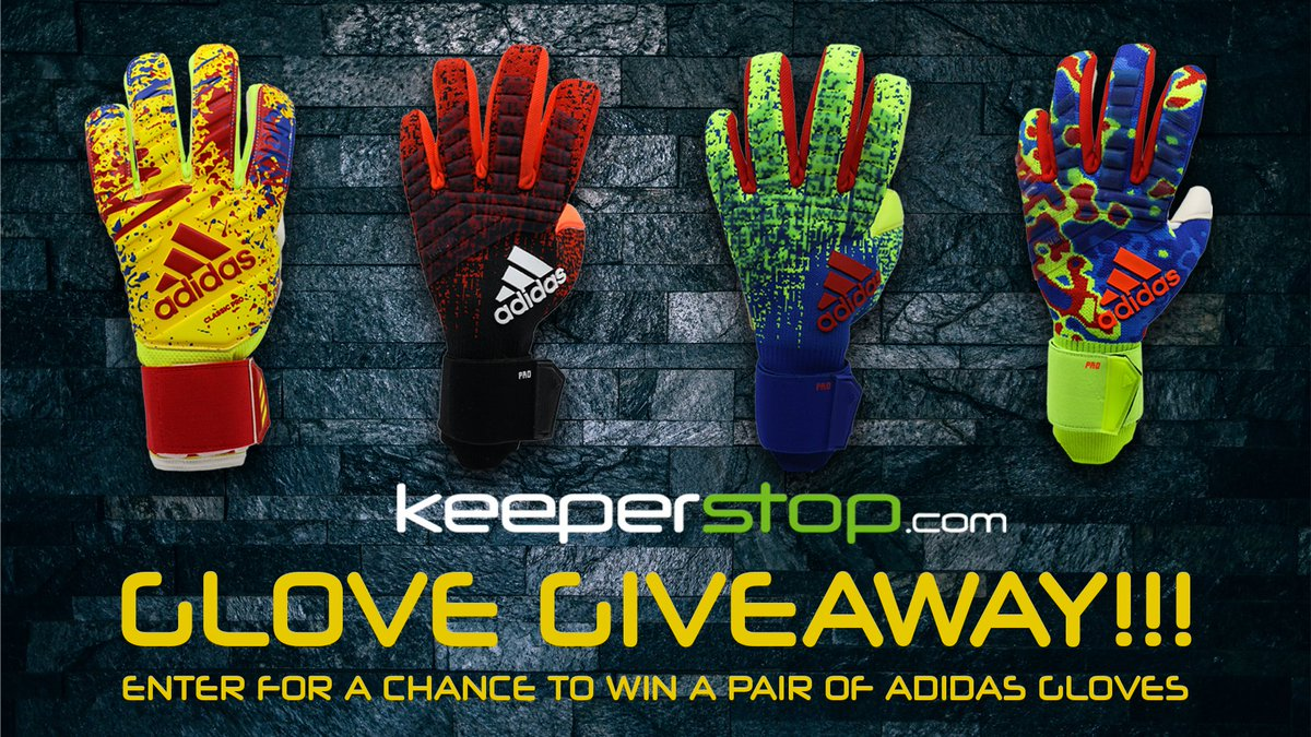 40bcab9d025 TO ENTER 1. Follow @Keeperstop 2. Tag a #gk training partner 3. Comment  your glove size Random winner selected April 22nd *Intl winner responsible  for ...