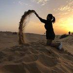 Image for the Tweet beginning: Desert brings childhood memories, that's