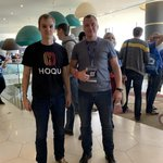 Image for the Tweet beginning: Dear friends!  Yesterday, The HOQU team