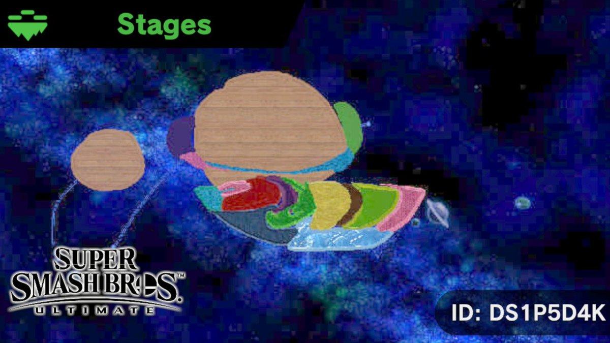 has anyone tried this stage #StageSmashBros #SmashBros #NintendoSwitch