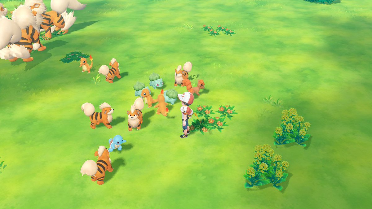 It's like a personal Jurassic park! #PokemonLetsGo #NintendoSwitch