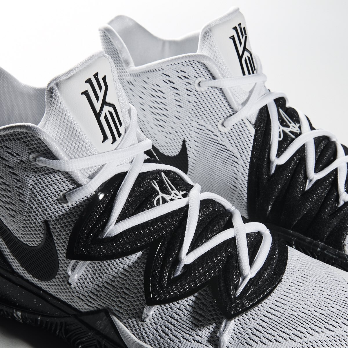 """timeless design 73c35 b5005 The Nike Kyrie 5 """"Cookies and Cream"""" is available now at Jimmy Jazz  http   www.jimmyjazz.com mens footwear nike-kyrie-5 AO2918-100 color White  … ..."""
