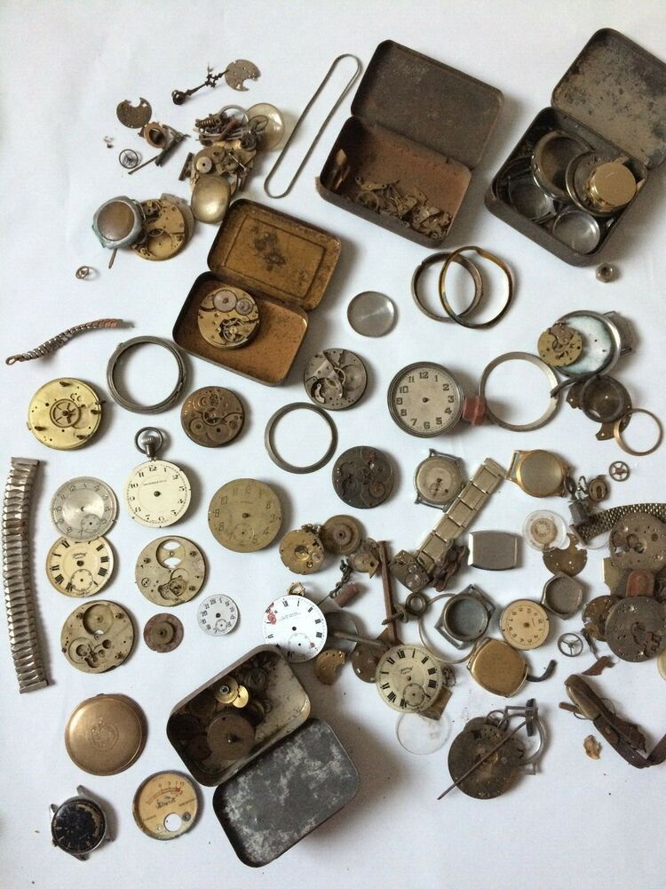 WATCH THIS: Antique Watchmakers Job Lot Of Pocket Watch Parts- Straps, Faces, Cogs, Gears https://t.co/efoKHRVHzP  #watchparts #antiquewatch #pocketwatch #watchmaking #antiques #watchmaker #steampunk
