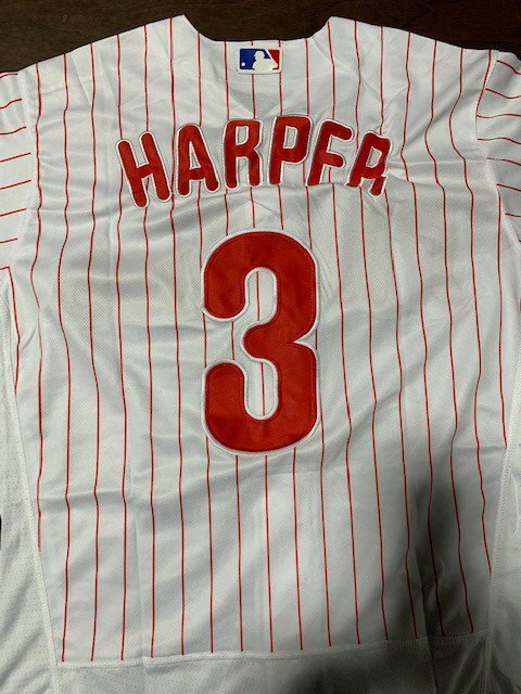 Since @MLB opening day, Philadelphia @CBP officers have seized $44,000 in counterfeit @bryceharper3 @Phillies jerseys from China. Counterfeit sports jerseys are manufactured with substandard and potentially dangerous textiles. Details at http://bit.ly/2ZwmEUO #IPR