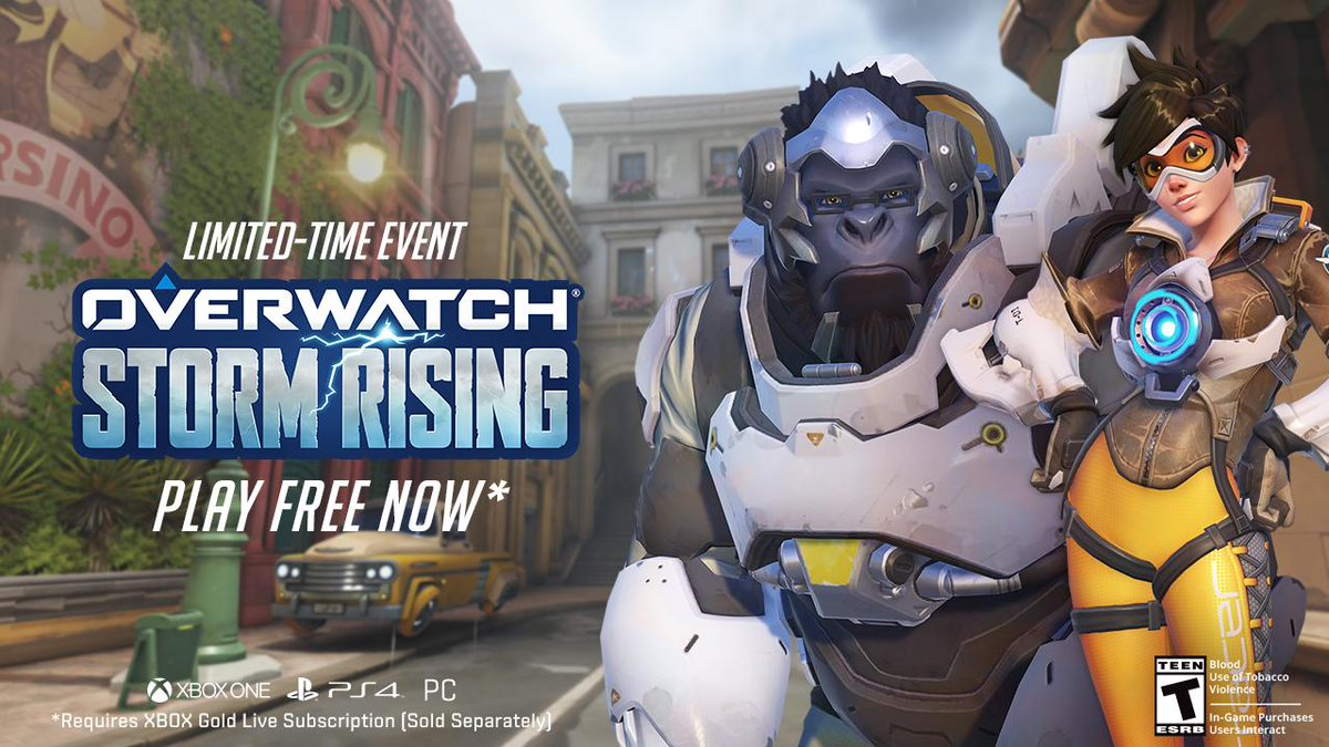 when is overwatch free to play