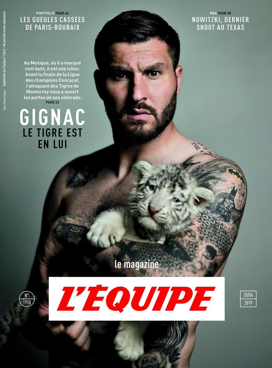 André-Pierre Gignac concedió una entrevista para L'Equipe