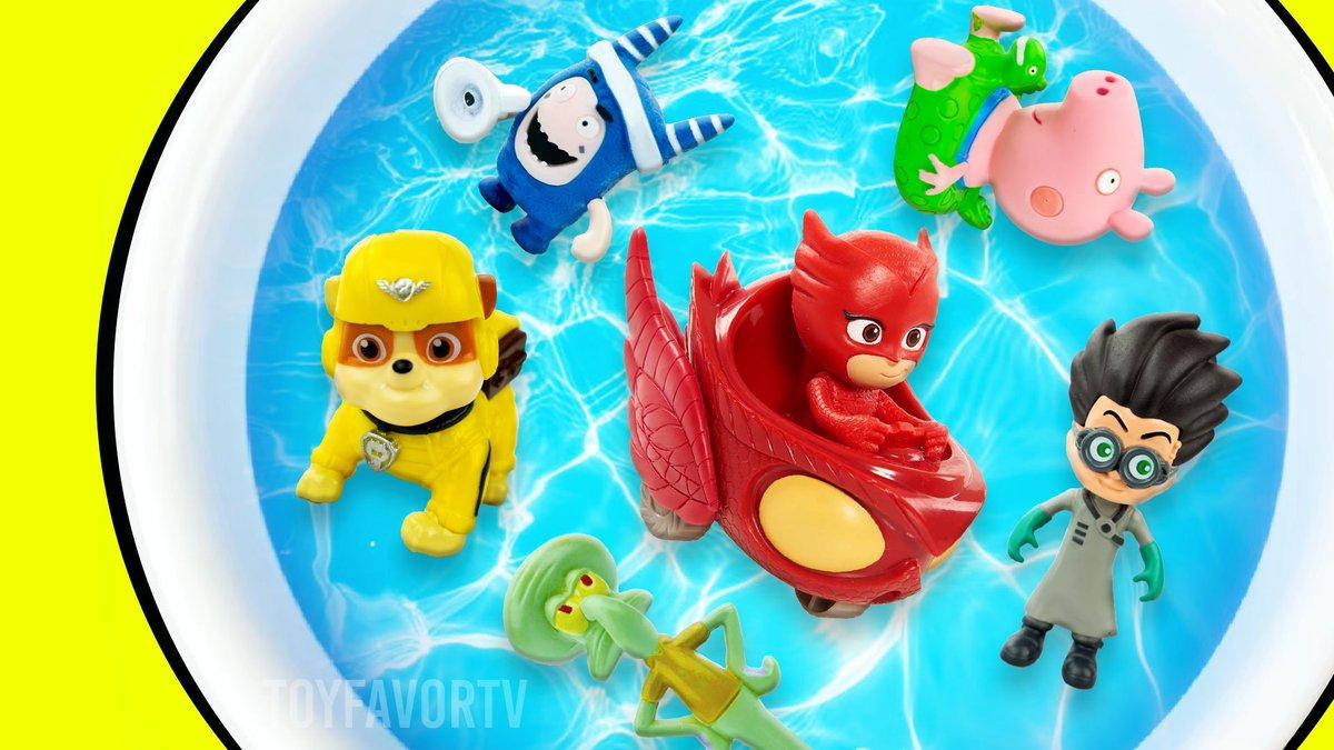 Toys Learning with Oddbods, PJ Masks, Paw Patrol, Peppa Pig