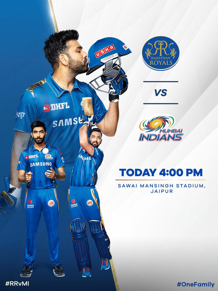Mumbai Indians's photo on #RRvMI