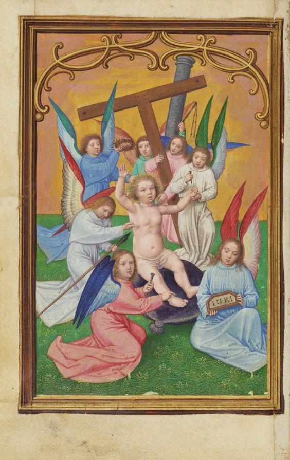 Resultado de imagen para los instrumentos del martirio por ángeles