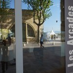 Image for the Tweet beginning: L'Espace d'exposition des Arcades transformé