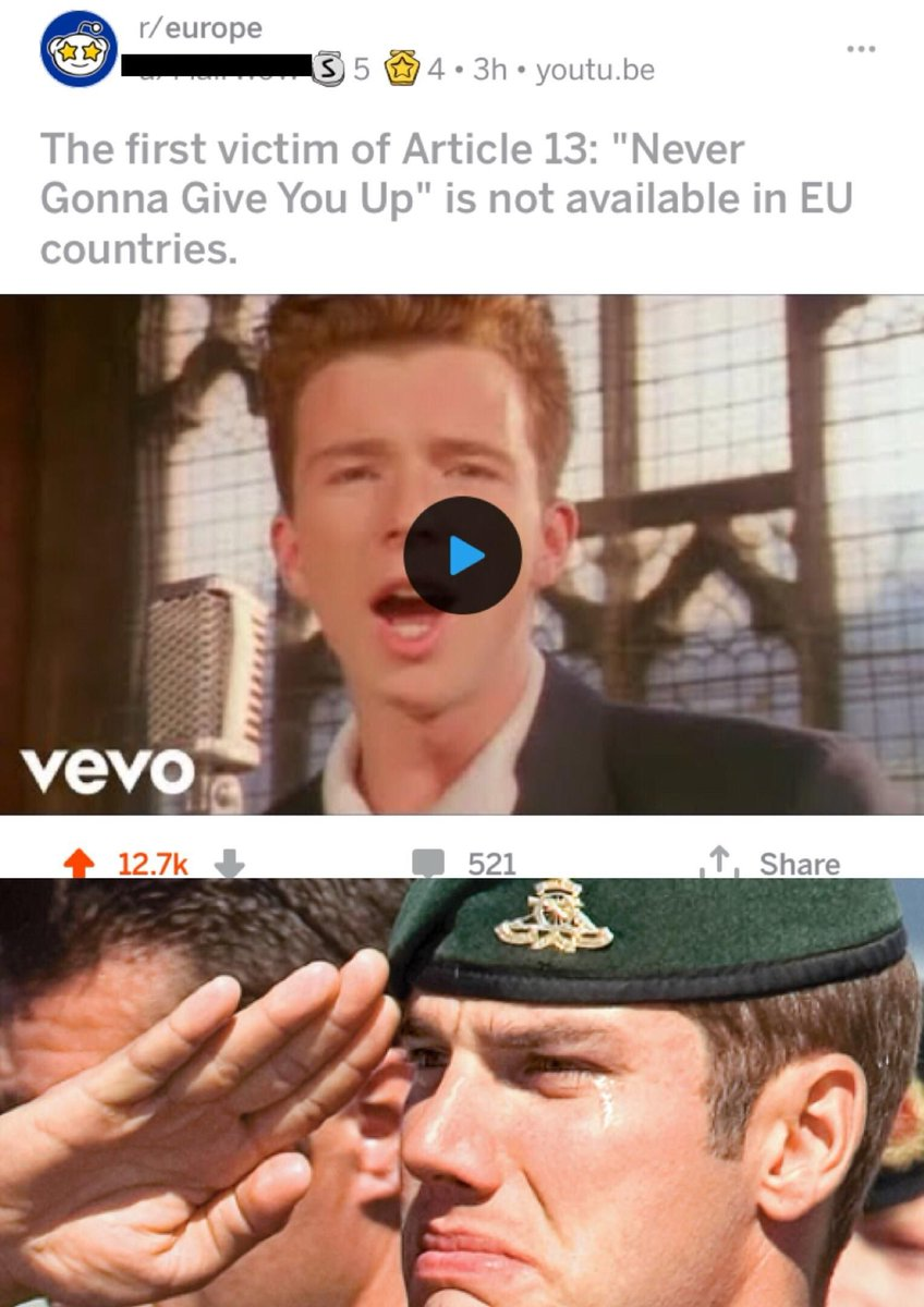@pewdiepie memes are dying! They stole the killin' memes idea from you!  #memedying #article13isbad #LeaveEU #youtube #ThisIsSoSad