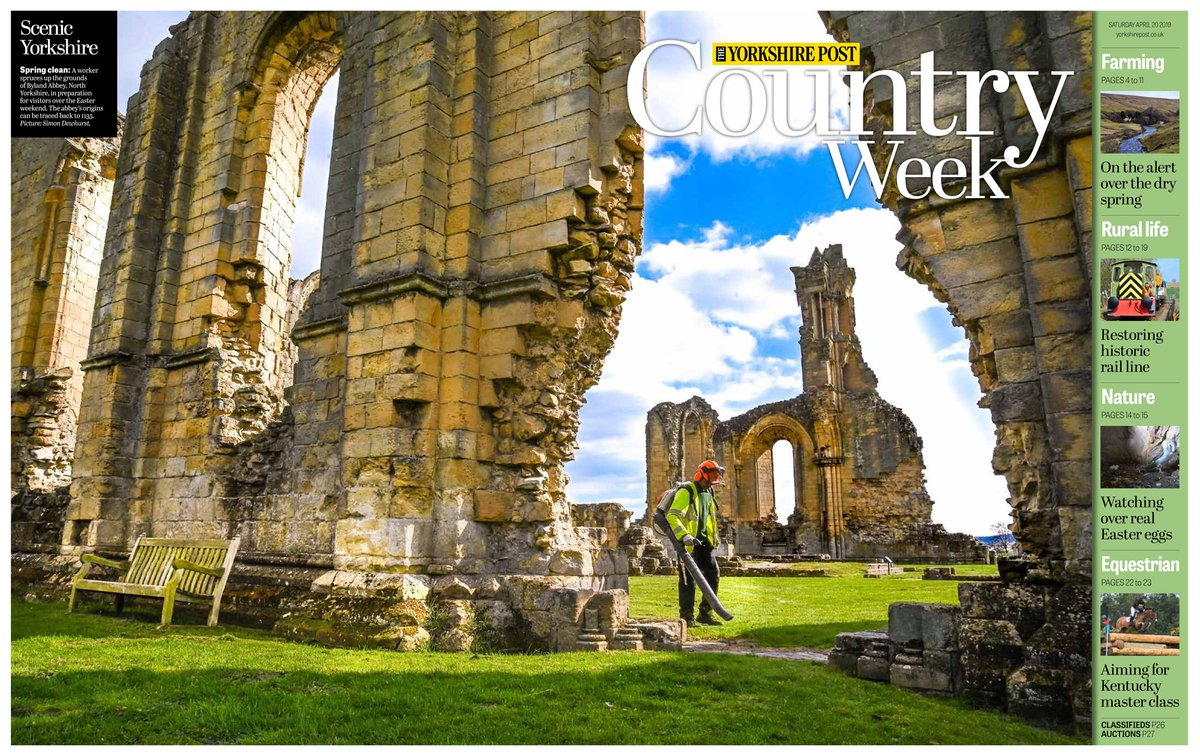 3a7e7a3fca7 ... for this weekend's Country Week supplement : On sale all weekend with  The Yorkshire Post. #Yorkshire #photography #buyapaperpic.twitter .com/YziTAumXFV