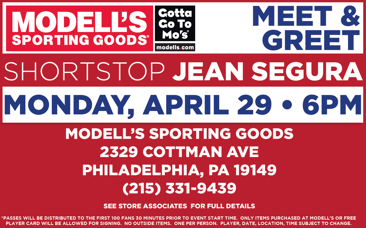 778a90c9 hey philly here s your chance to meet ss at the modell s on cottman ave.  Share