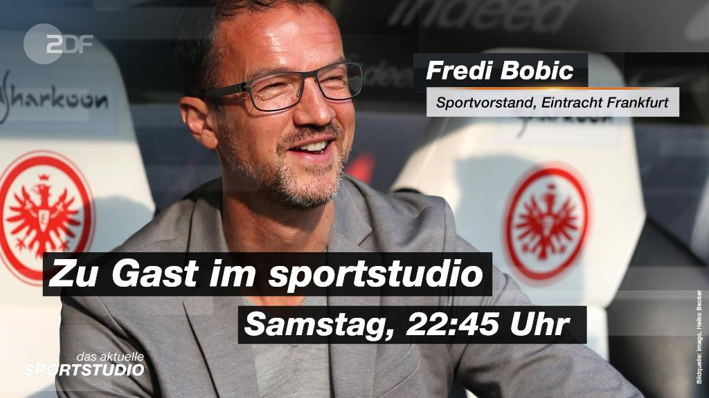 Fredi Bobic, eines der Gesichter des Erfolgs der @Eintracht ist zu Gast im aktuellen #sportstudio! 🙌